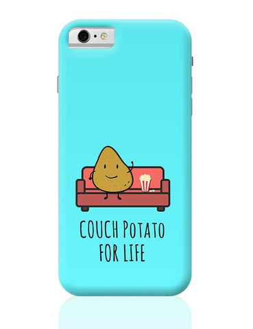Funny Couch Potato Phone Cover for TV Show Lovers iPhone 6 / 6S Covers Cases