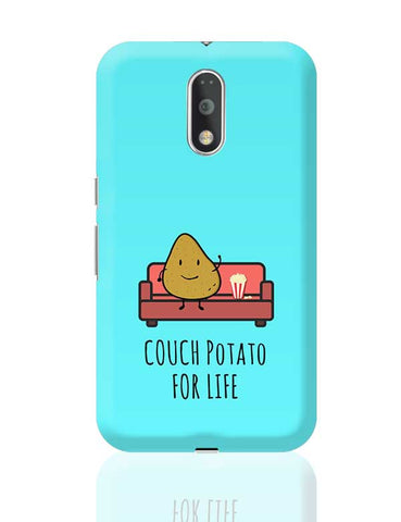 Funny Couch Potato Phone Cover for TV Show Lovers Moto G4 Plus Online India