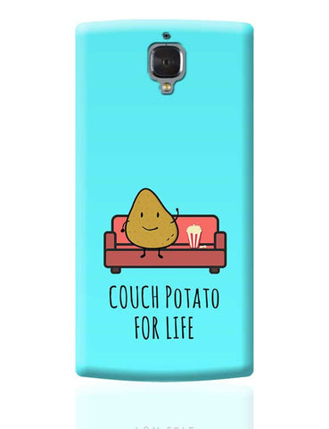 Funny Couch Potato Phone Cover for TV Show Lovers OnePlus 3 Covers Cases Online India