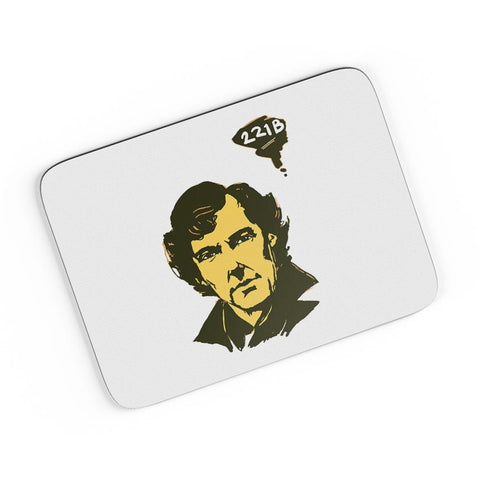 221 B Sherlock Holmes Illustration  A4 Mousepad Online India