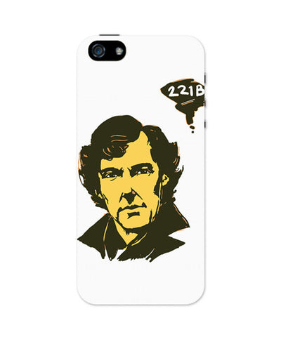 iPhone 5 / 5S Cases & Covers | 221 B Sherlock Holmes Illustration iPhone 5 / 5S Case Online India