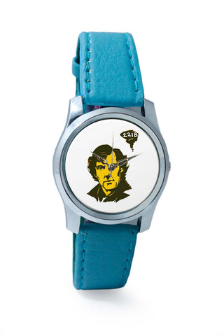 Women Wrist Watch India | 221 B Sherlock Holmes Illustration Wrist Watch Online India
