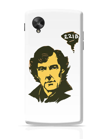 Google Nexus 5 Covers | 221 B Sherlock Holmes Illustration Google Nexus 5 Cover Online India