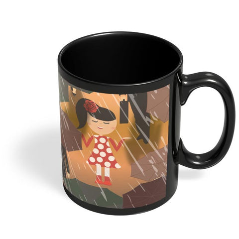 Rains Black Coffee Mug Online India
