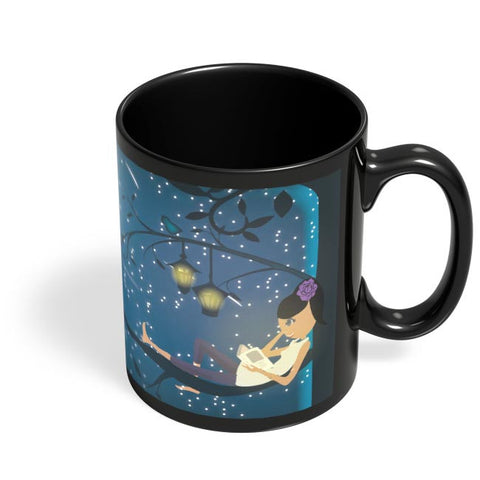 Dream World Black Coffee Mug Online India