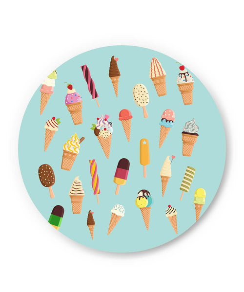 PosterGuy | Ice-cream Cone Pattern Fridge Magnet Online India by Arwa
