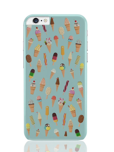 iPhone 6 Plus / 6S Plus Covers & Cases | Ice-Cream Cone Pattern iPhone 6 Plus / 6S Plus Covers and Cases Online India