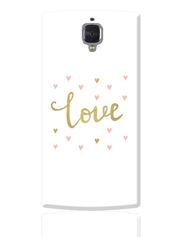 Love Illustration  OnePlus 3 Cover Online India