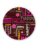 PosterGuy | Happy Birthday Pattern Fridge Magnet Online India by Arwa