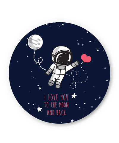 PosterGuy | I Love You To The Moon And Back Fridge Magnet Online India by Arwa