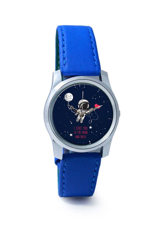 Women Wrist Watch India | I Love You To The Moon And Back Wrist Watch Online India