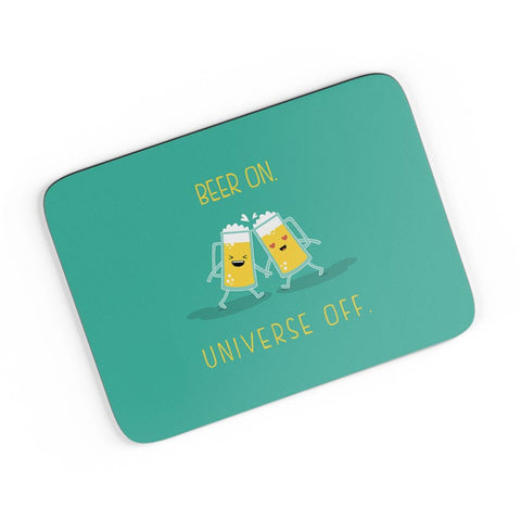 Beer On Universe Off |  A4 Mousepad Online India
