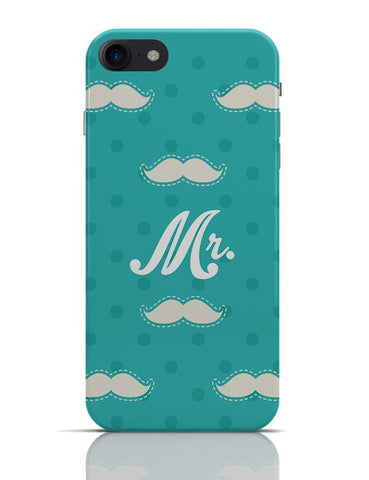 Mr. Moustache Quirky Pattern  iPhone 7 Covers Cases Online India