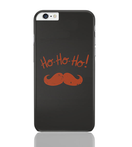 iPhone 6 Plus/iPhone 6S Plus Covers | Ho-Ho-Ho (Orange) Moustcahe iPhone 6 Plus / 6S Plus Covers Online India