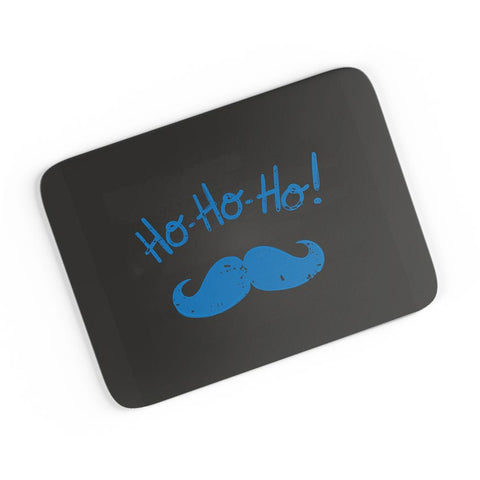 Ho-Ho-Ho (Blue) Moustcahe A4 Mousepad Online India