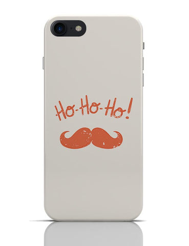 Ho-Ho-Ho (Red) Moustcahe iPhone 7 Covers Cases Online India