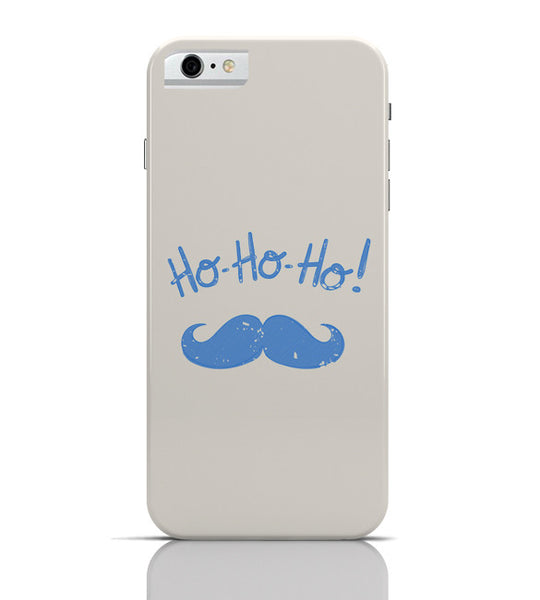 iPhone 6 Covers & Cases | Ho-Ho-Ho (Light Blue) Moustcahe iPhone 6 Case Online India