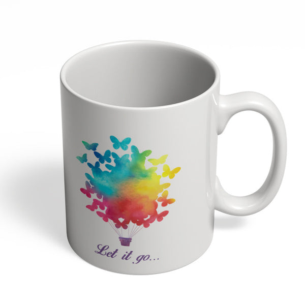 Coffee Mugs Online | Let It Go | Free Birds Illustraion Mug Online India