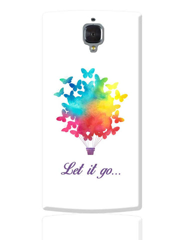 Let It Go | Free Birds Illustraion  OnePlus 3 Cover Online India