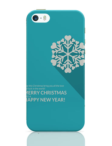 iPhone 5 / 5S Cases & Covers | Heart Snowflake iPhone 5 / 5S Case Online India