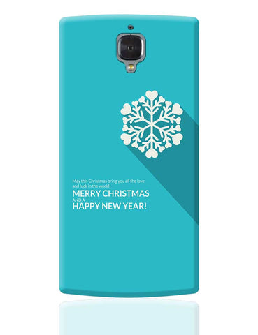 Heart Snowflake OnePlus 3 Cover Online India
