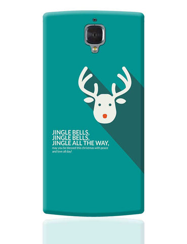 Jingle Bells OnePlus 3 Cover Online India