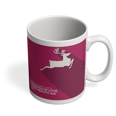 Coffee Mugs Online | Minimal Reindeer Mug Online India