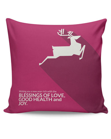PosterGuy | Minimal Reindeer Cushion Cover Online India