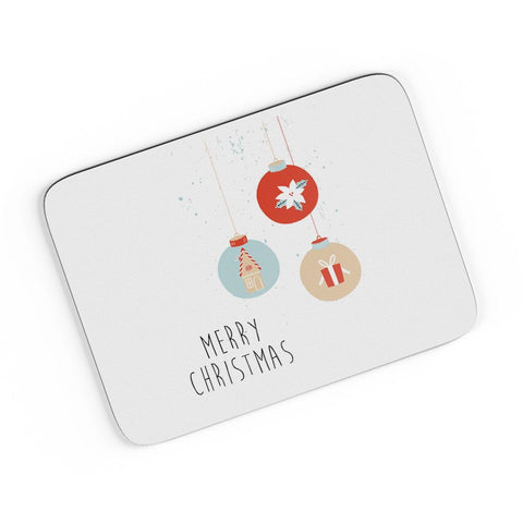 Christmas Balls A4 Mousepad Online India