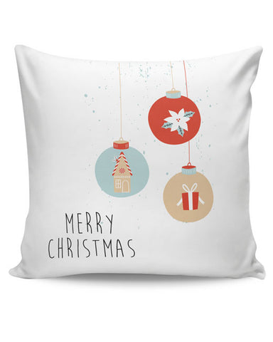 PosterGuy | Christmas Balls Cushion Cover Online India