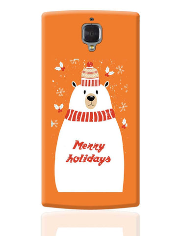 Merry Holidays OnePlus 3 Cover Online India