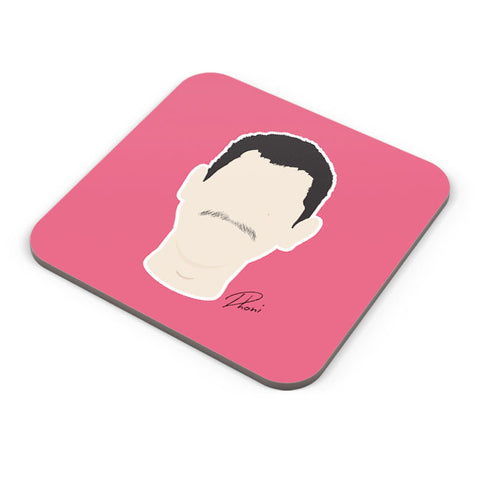 Buy Coasters Online | MS.Dhoni illustration Coaster Online India | PosterGuy.in