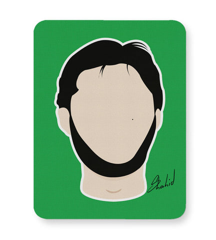 Buy Mousepads Online India | Shahid Afridi Illustration Mouse Pad Online India