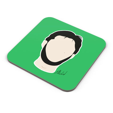 Buy Coasters Online | Shahid Afridi Illustration Coaster Online India | PosterGuy.in