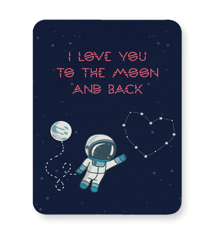 Buy Mousepads Online India | I Love You To The Moon And Back Stars Mouse Pad Online India