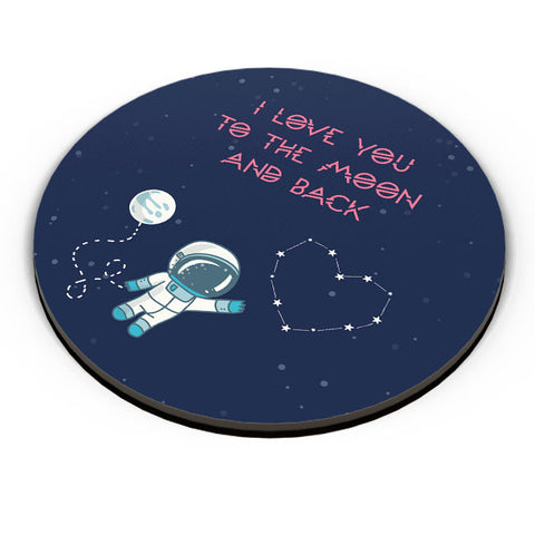 PosterGuy | I Love You To The Moon And Back Stars Fridge Magnet Online India by Arwa
