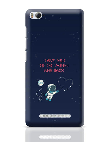Xiaomi Mi 4i Covers | I Love You To The Moon And Back Stars Xiaomi Mi 4i Cover Online India