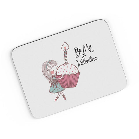 Be My Valentine- Girl A4 Mousepad Online India