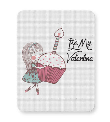 Buy Mousepads Online India | Be My Valentine- Girl Mouse Pad Online India