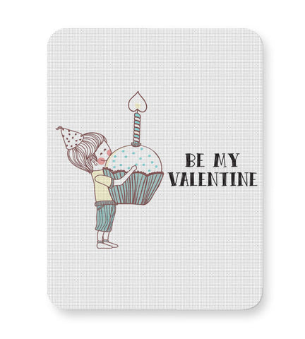 Buy Mousepads Online India | Be My Valentine- Boy Mouse Pad Online India
