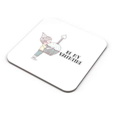 Buy Coasters Online | Be My Valentine- Boy Coaster Online India | PosterGuy.in
