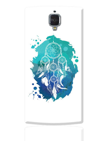 Watercolor Dreamcatcher (Blue green) OnePlus 3 Cover Online India