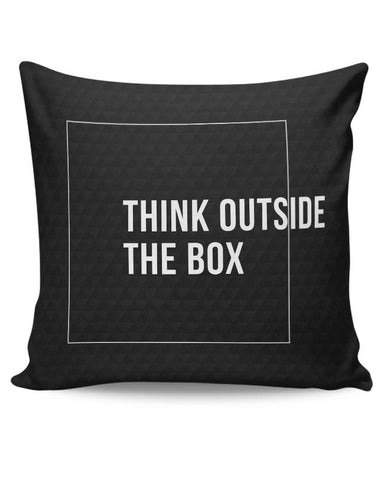 PosterGuy | Think Outside The Box Cushion Cover Online India