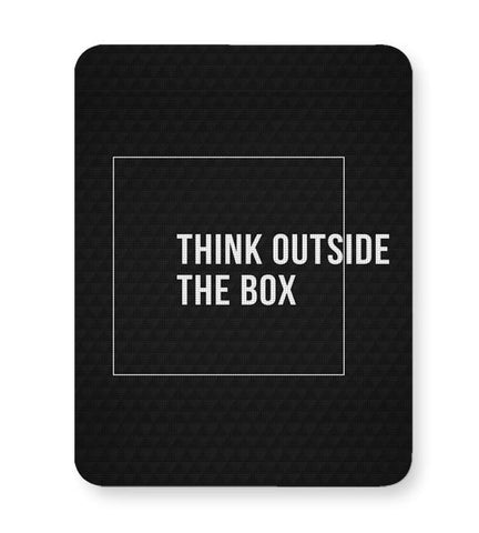 Buy Mousepads Online India | Think Outside The Box Mouse Pad Online India