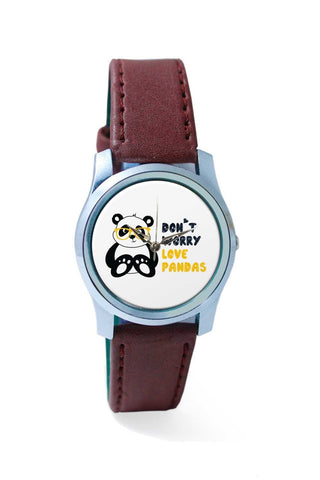Women Wrist Watch India | Don'T Worry Love Pandas Wrist Watch Online India