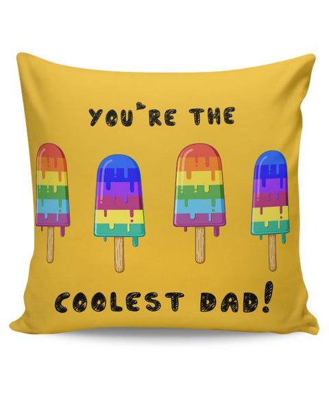 Coolest Dad Cushion Cover Online India