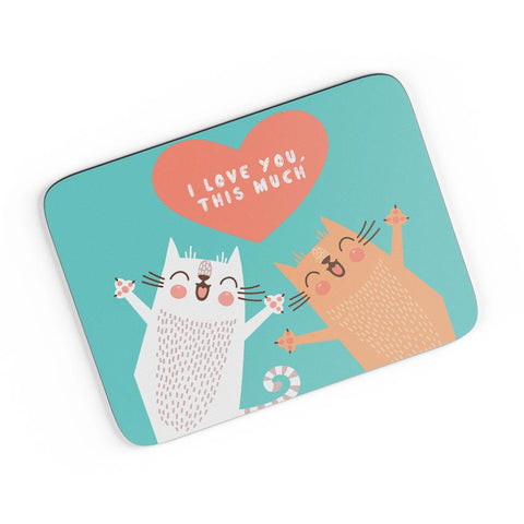 I love you this much A4 Mousepad Online India
