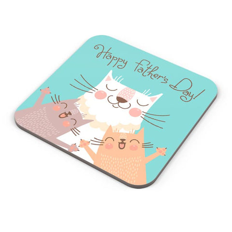 Happy Father's Day Coaster Online India