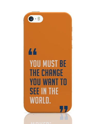 Be The Change iPhone Covers Cases Online India