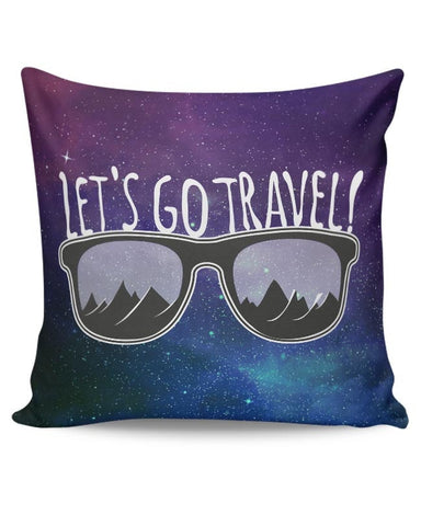 Let'S Go Travel Cushion Cover Online India